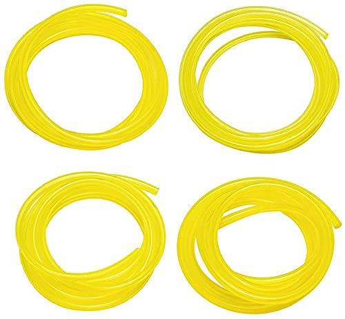 Uniteko 4 tamaños 4 pies tubo de manguera de combustible para Poulan Homelite Craftman cadena Trimmer Chiansaw soplador