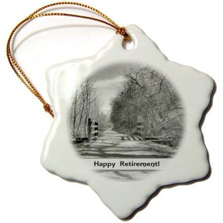 Pattebom Trail of Shadows, Retirement-Ceramic Christmas Ornaments 2018 Novelty for Christmas Decorations,Tree Decor