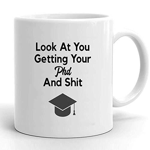 Regalo de phd, regalo de graduación de doctorado, graduación de doctor, taza de doctorado, idea de regalo de doctorado, taza de doctorado divertida