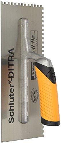 SCHLUTER DITRA TROWEL - 11/64 X 11/64 SQUARE NOTCH