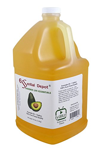 Avocado Oil - 1 Gallon - 128 oz - Food Grade - safety sealed HDPE container with resealable cap