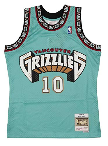 Mitchell & Ness Vancouver Grizzlies Jersey NBA Swingman Jersey Mike Bibby 10
