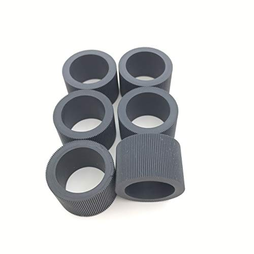 6PC X OKLILI 148-4864 1484864 Pickup Feed Roller Tire Rubber Compatible with Kodak i1200 i1300 i1210 i1220 i1310 i1320 i2400 i2600 i2800 ss500 ss520 i1405 i1410 i1420 i1440 i150 i160 i260 i280