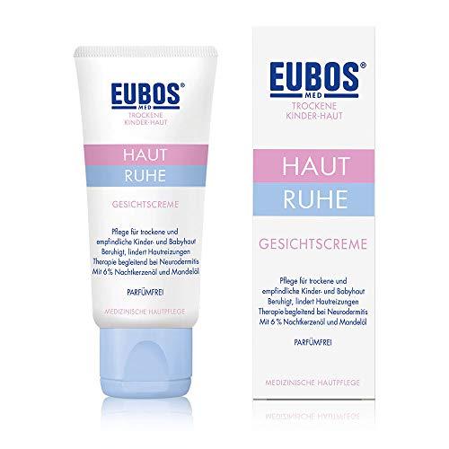 Eubos Haut Ruhe Gesichtscreme (1x30ml) medizinische Gesichtspflege für die zarte Kinder- und Baby-Haut – Hergestellt in Deutschland