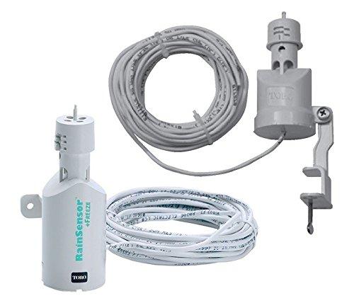 Regensensor met TRS-kabel voor irrigatie.