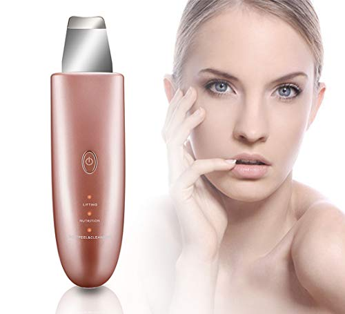 Skin Scrubber,Facial Deep Cleansing and Blackhead Removal Comedone Extractor, Face Skin Pore Clean and Exfoliator, Comedone Extractor, Facial Lifting Tool
