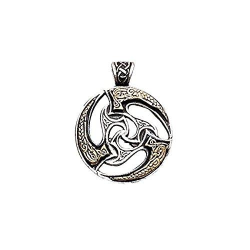 Sonnenrad Keltischer Anhänger Amulett Talisman Schmuck - Reichtum und Erfolg
