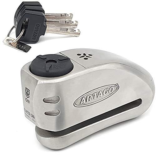 4. Candado antirrobo Moto Disco Artago 32