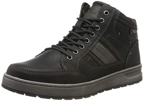TOM TAILOR Herren 7981601 Klassische Stiefel, Schwarz (Black 00001), 45 EU