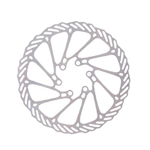 Tuimiyisou Bicicleta Freno Freno Bicicleta Freno Freno Rotores Bloqueo Bloqueo Bloqueo Acero Inoxidable con 6 Tornillos para Bicicleta Carretera Monte Bike MTB BMX 180mm
