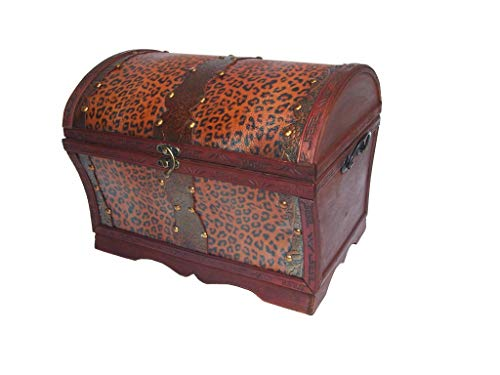 AAF Nommel®, Holz- Kunstleder Box, Nr. 191, Geschenkekiste, Schmuckkiste, ca. 31,5 x 24,5 x 24,5 cm