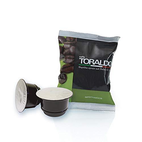 Caffè Toraldo Scatola Capsule Compatible Caffitaly System Aromatica Napoletano Caffè Espresso - 100 Pezzi