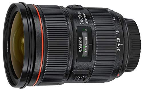 Canon 5175B002-cr EF 24-70mm F/2.8L II USM Standard Zoom Lens, Black (Renewed)
