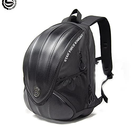 Mochila para casco de motocicleta, impermeable, para motociclista, reflectante, gran capacidad, para casco completo