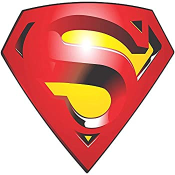 Set of 3 - Superman Returns - Full Color CAD Cut Car Logo - Sticker Graphic - Auto Wall Laptop Cell Truck Sticker for Windows Cars Trucks
