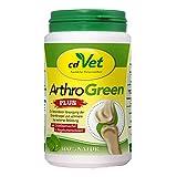 cdVet ArthroGreen Plus 150g - natürliche und effektive Nahrungsergänzung zur Unterstützung der Gelenke...