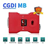 CG Car Key Programmer OBD2 Diagnose Scanner, Auto Diagnostic Tool Anti-Theft Replacing ECU Reader for Benz Key Pairing, EIS Data Changing, Security TCU Data Reading
