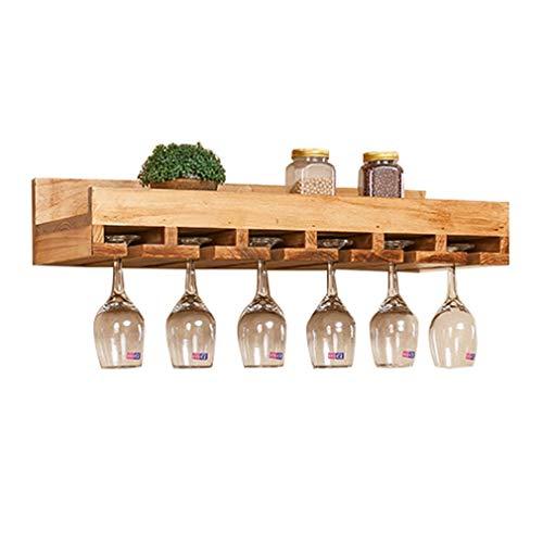 DECORACION FHW Estante del Vino Separado Holder Compartimentos de usos múltiples del Vino Display solución de Almacenamiento Ideal de Vino Botellas histórico Precipitación de Madera de Pino