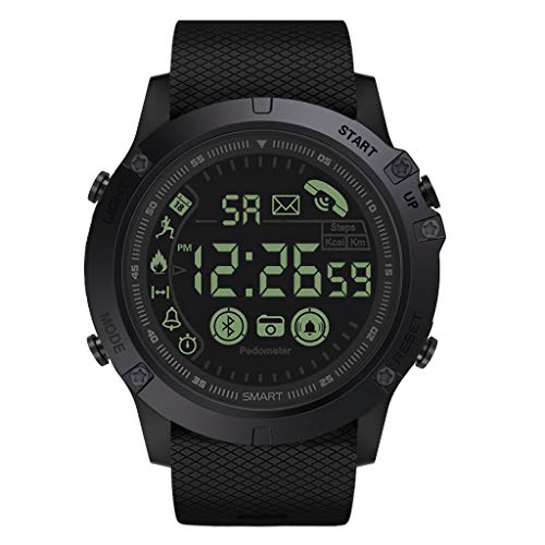 Flagship Rugged Smart Relojes 33-Month Sty Time 24h All-Weather Monitoring