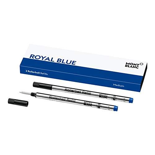 11.6 cm 24 Pezzi Ricarica Penna a Sfera Ricariche Scrittura Liscia 4.5 Pollici Nero e Blu e 1 mm Punta Media