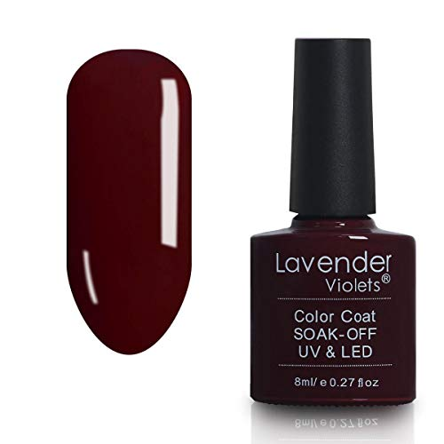 UV LED Soak-off Nail Gel Polish Wine Red 8ml