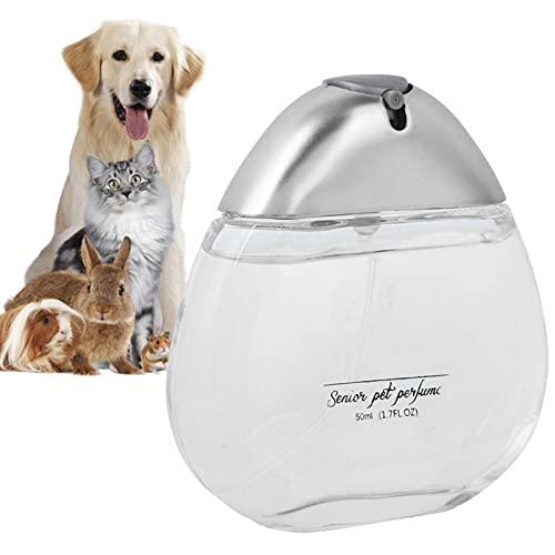 Shipenophy 3 Colores, Perfume para Perros, Herramienta de gromming para Mascotas Desodorizante Natural,(Charm Silver Gentleman)