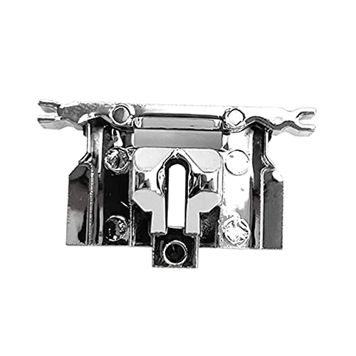 shamjina Hair Clipper DIY Accessory Replacement Hair Clipper Swing Head Guide Block, for WAHL 8504 Swing Heads Covers Guide Electric Hair Clipper Part - Silver