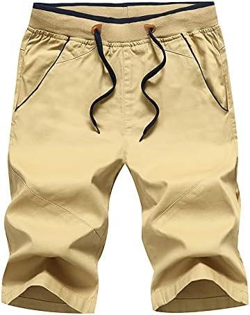Nicwagrl Men's Shorts, Men's Shorts Shorts Men's Korean Casual Pants New Trend Loose Breeches (Color : Khaki, Size : XXX-Large)