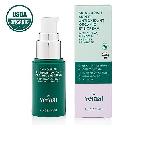 Vernal SKINourish  Super Antioxidants Organic Eye Cream for...