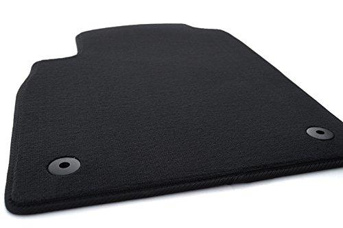 Fußmatte Astra J Velours Automatte, Fahrermatte Matte einzeln schwarz