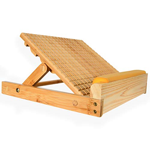 Garkup Stretch Board,Calf Stretcher,Adjustable Ankle Incline Board Professional Wooden Slant Board,Slant Board for Calf Ankle, Plantar Fasciitis & Foot Pain