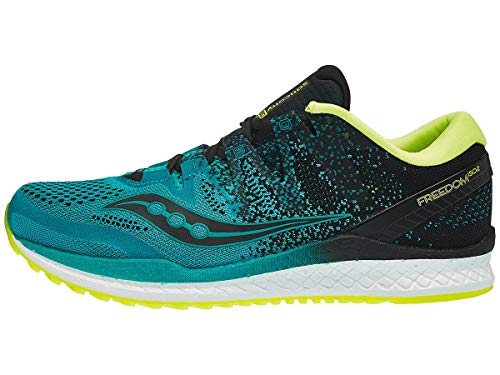Saucony Freedom Iso 2, Chaussures de Running Compétition Homme, Vert (Verde Y...