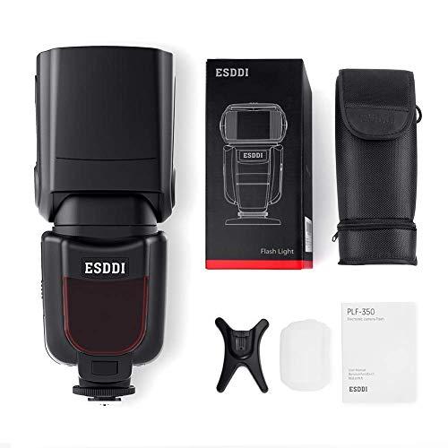 ESDDI Camera Flash Speedlite, LCD Display, Multi, for Canon Nikon Olympus Pentax DSLR and Digital Cameras with Standard Hot Shoe