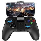 BaiLUSHoP Joystick Inalámbrico Gamepad Game Controller Bluetooth BT4.0 Joystick para Teléfono Móvil Tablet TV Box Holder