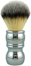 RazoRock Chrome Silvertip Plissoft Synthetic Shaving Brush