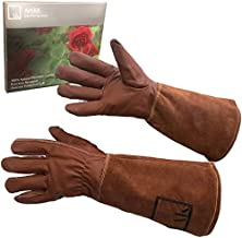 Rose Pruning Gloves Long Gardening Gloves for Women and Men Work Gloves Rose Bush Cut Proof Gloves Garden Gloves Women Rose Gloves Gauntlet Leather Gardening Gloves Womens Garden Gloves Cactus ArtAK L