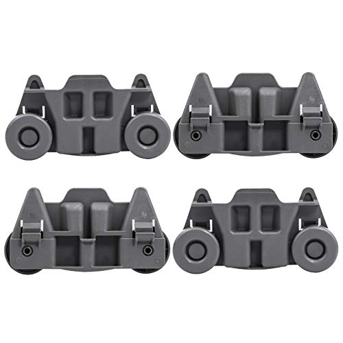 W10195416 Dishwasher Wheels Lower Rack By AMI,To Be Able To Replace B00LGUB7UU,W10195416V,PS11722152,W10195416VP,B01BR493DW,AH3406971(4 pcs)