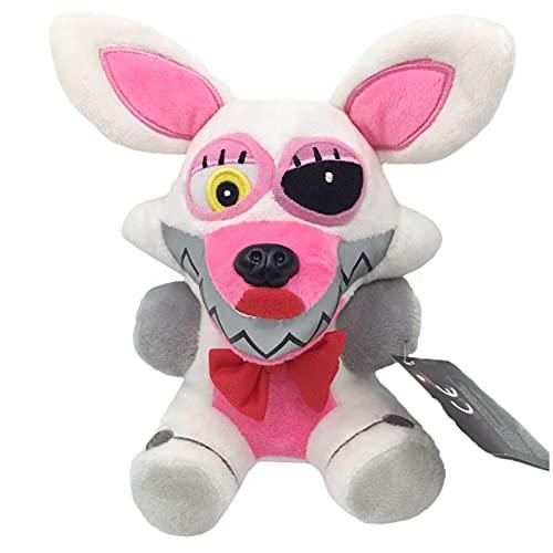 SDFV Five Nights At Freddy'S 4 FNAF Plush Toys18Cm, Fazbear Bear Foxy BonnieChicaNightmare Security Breach Juguetes De Peluche Regalo