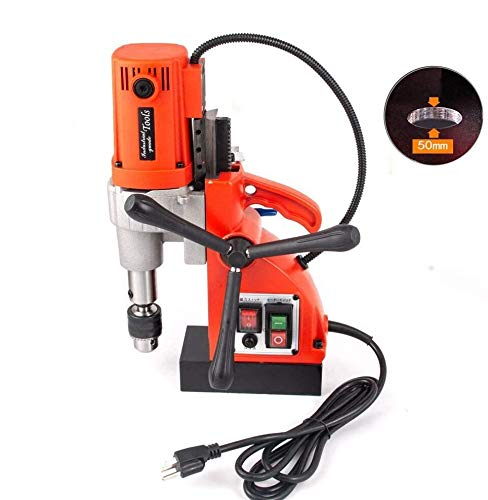 Purchase TOSENSE 1200W Magnetic Drill Press Up to1-1/3 Inch (35mm) Boring Diameter 450RPM Portable E...