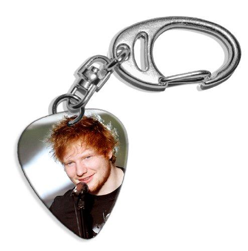 Live Performance Ed Sheeran (WK) Guitarra Pick Keyring Llavero
