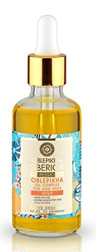 Natura Siberica Complejo de Aceites Reparador de Puntas - 50 ml