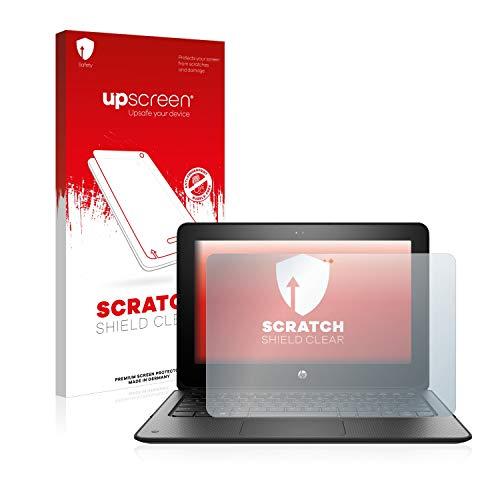 upscreen Schutzfolie kompatibel mit HP ProBook x360 11 G1 EE – Kristallklar, Kratzschutz, Anti-Fingerprint