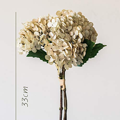 yueyue947 1 Manojo de Flores Artificiales de hortensias secas/Flores Decorativas secas/Retro Europeo/Murong