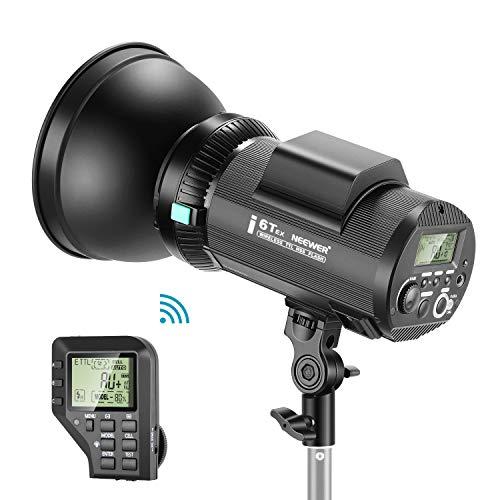 Neewer i6T EX 600W 2,4G TTL Studio Strobe 1/8000 HSS-Blitzlicht Monolight kompatibel mit Canon Funk Auslöser Einstelllampe Recycling in 0,2-1 Sek. Lithium Batterie Bowens-Halterung