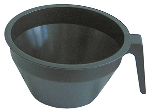 Bonamat Filter Nr. 960100 Filterpfanne für Brühmaschine Höhe 100mm Kunststoff Innen ø 156mm/90mm Aussen 174mm 90mm