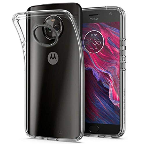 TPU Soft Clear Case for Motorola Moto X4 - Ultra Thin Crystal Case for Motorola X4 Back Cover