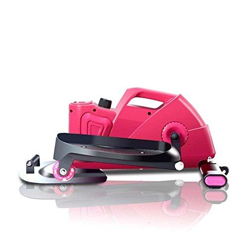 健康ステッパー ナイスデイ 専用ハンドル付 [メーカー保証1年] 踏み台 運動 室内 エクササイズ 有酸素運動(ピンク)