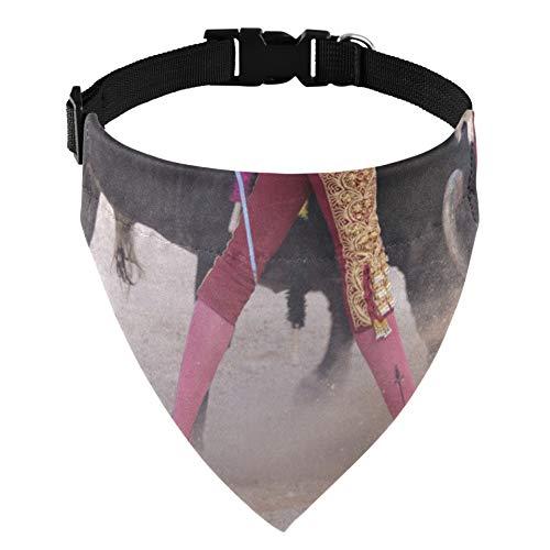 Elegantes toreros actan perfectamente Collar de perro Bandanas Bandana de perro para perros Gato Mascota Collar de perro Bandanas Disfraz de mascota Accesorios para el Da de San Valentn Bandana de