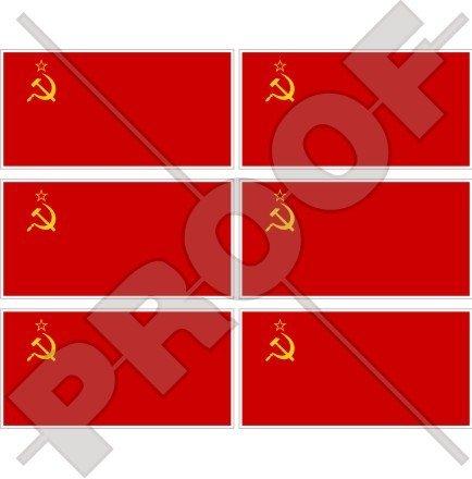 SOVIET UNIE Vlag USSR Communistisch Rusland 40 mm (1,6