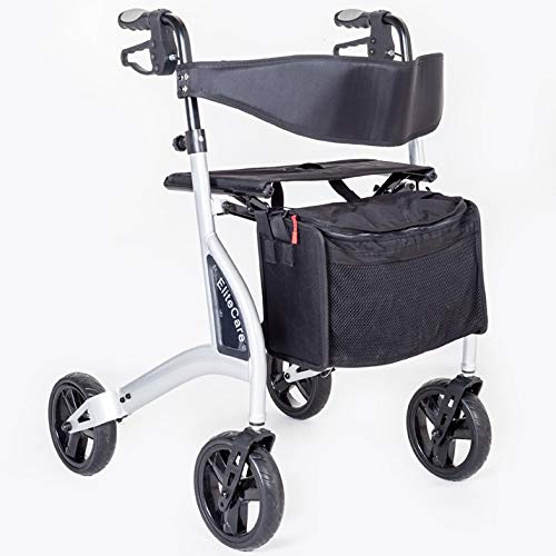 FAST FREE DELIVERY - Ultra lightweight folding rollator walking frame...